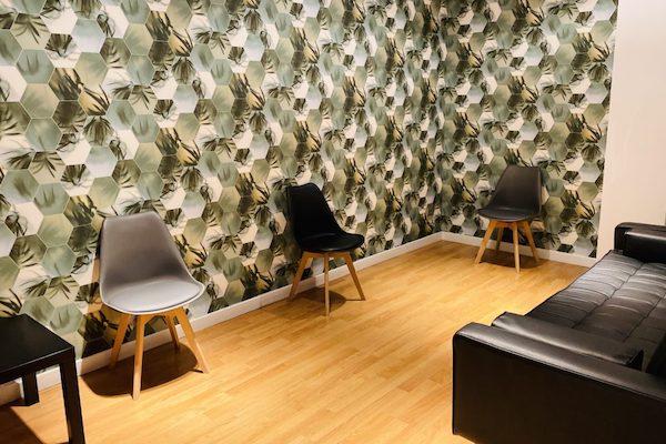 clínica dental carabanchel sala espera